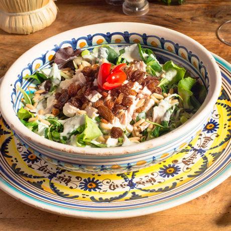 OsteriaSantoSpirito-insalata-pollo